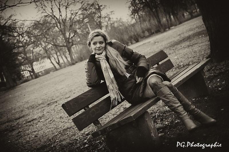 Портрет моей фотомодели Ольги......