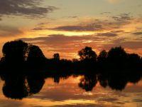 Венгрия, закат