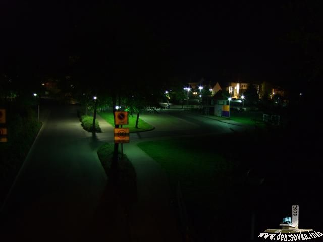 Dudersadt ночью