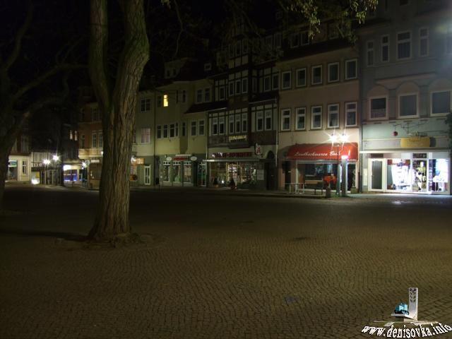 Duderstadt ночью