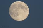 Луна днём
