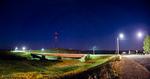 Ночной мост Денисовки.