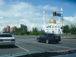 Астана, левобережье. Мусульманский Центр. Вид сбоку.
