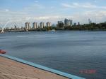 Астана. Набережная реки Ишим (Есиль)