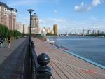 Астана. Набережная реки Ишим (Есиль) 1