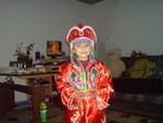 доча в мангольском костюме