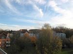 Осеннее городское небо